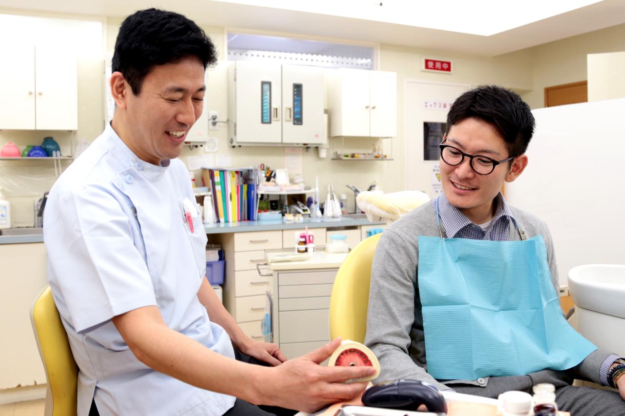 足立区綾瀬の歯医者 新井歯科医院 インプラント 治療計画の説明