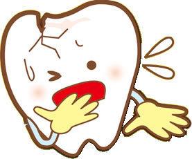 足立区綾瀬の歯医者 新井歯科医院 歯の破折